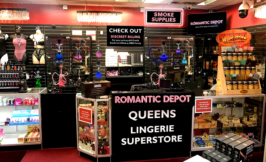 Romantic Depot New York Area Lingerie Stores in Queens, Manhattan, The Bronx, Rockland and Westchester